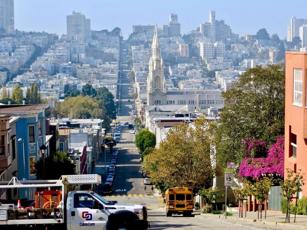 San Francisco en juillet