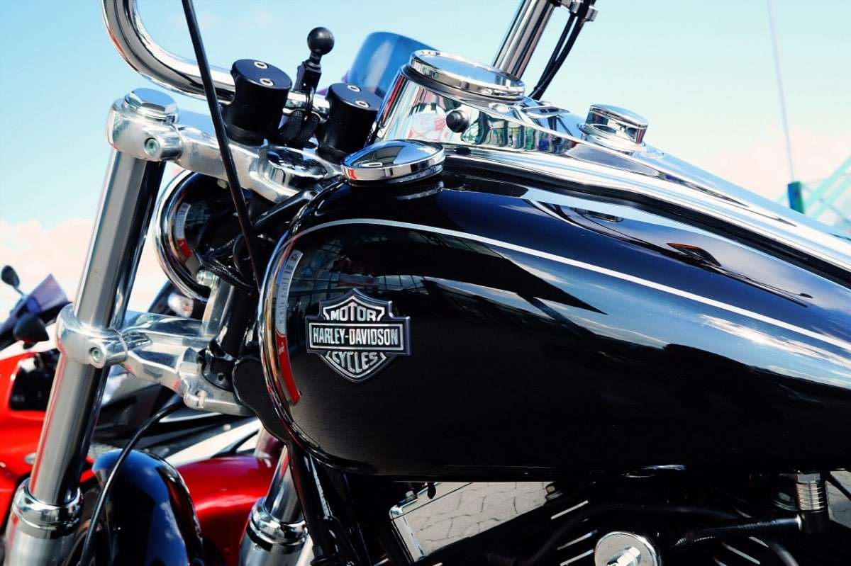 Harley Davidson Noire