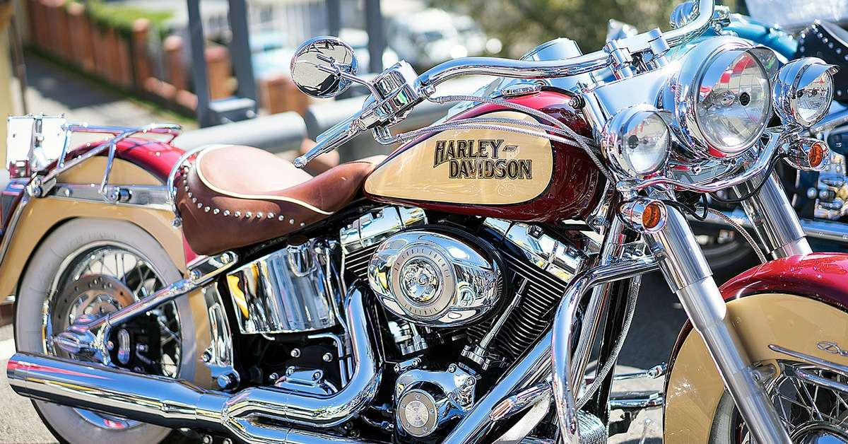 Road Trip Sur La Route 66 En Harley Davidson