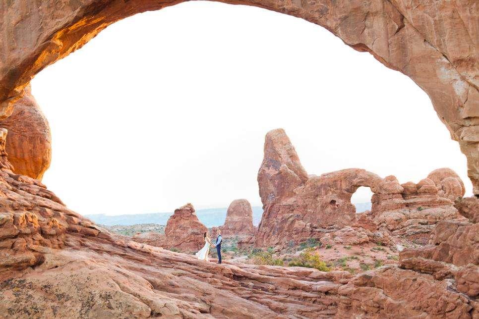Mariage à Arches National Park