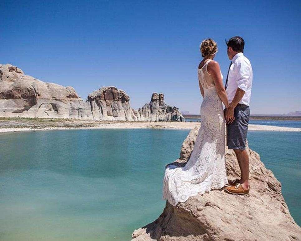 Mariage à Glen Canyon