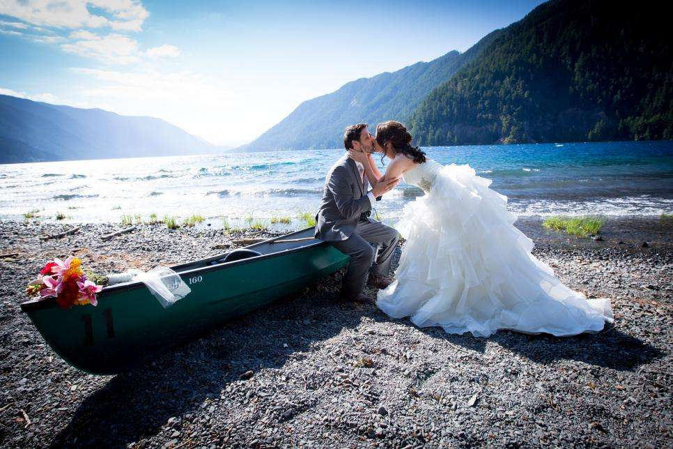 Mariage à Olympic National Park