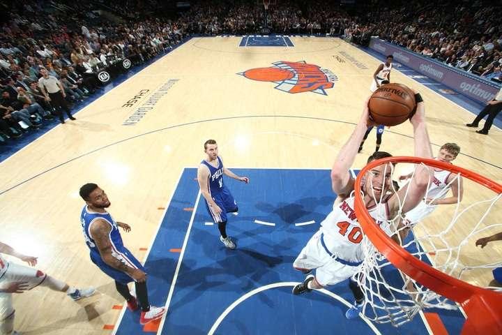 Match des New York Knicks