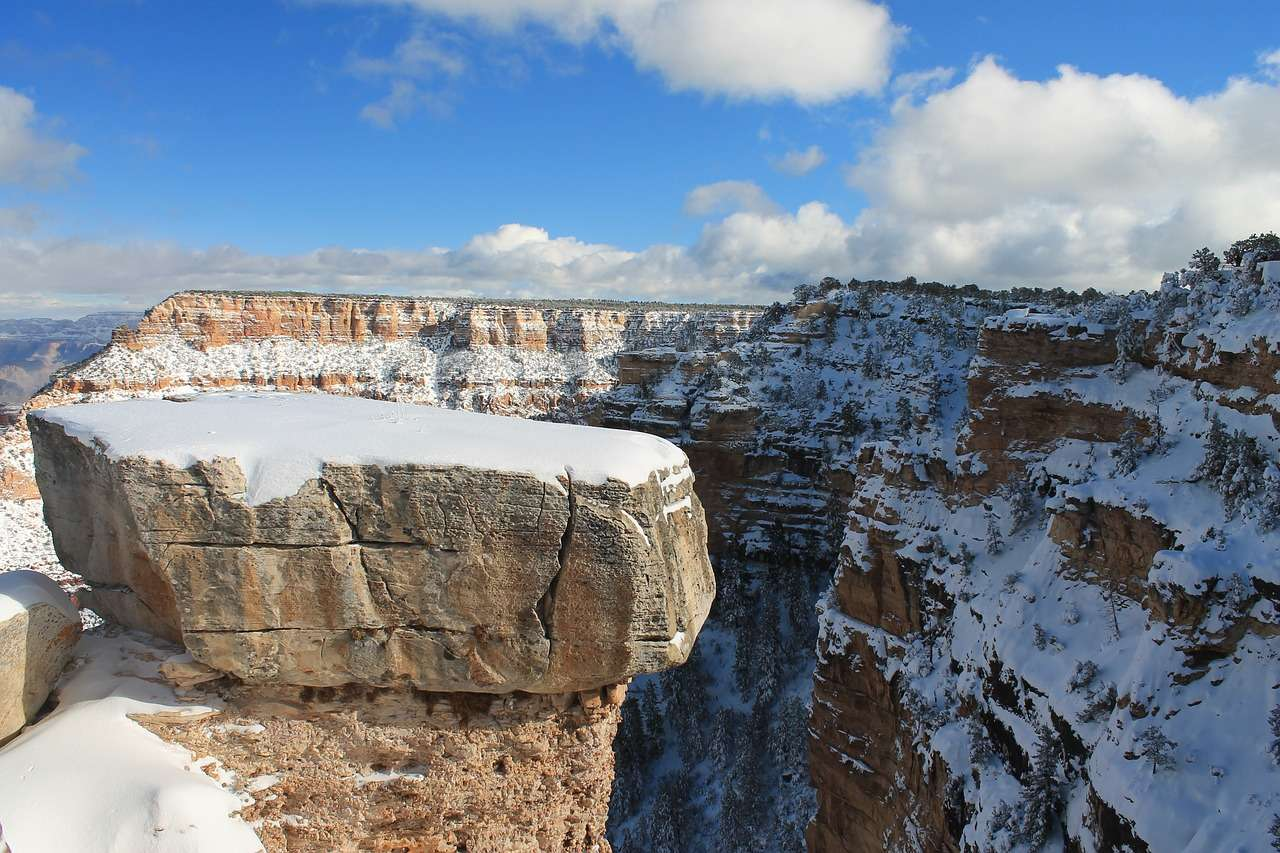 Grand Canyon sous la neige