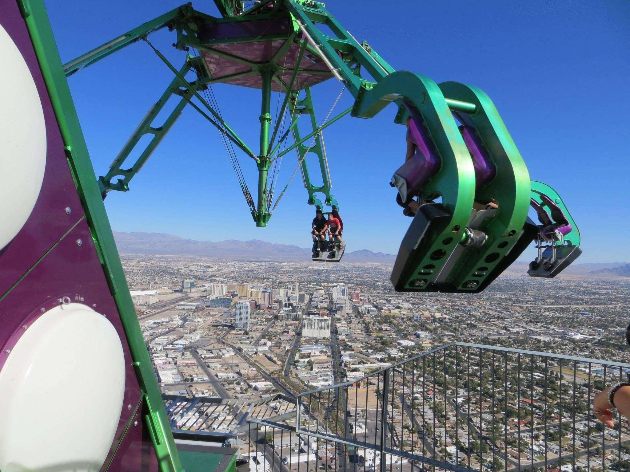 Attraction à sensation à Las Vegas