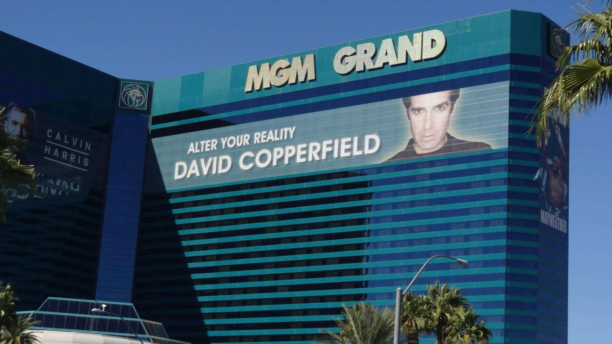 David Copperfield au MGM Grand