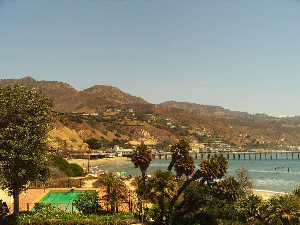 Surf à Malibu Californie