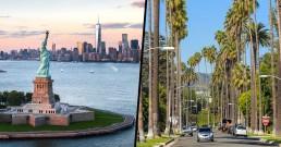 New York ou los Angeles