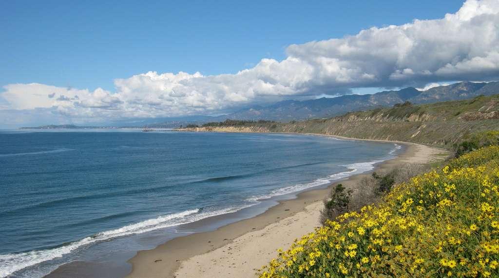 Rincon à Santa Barbara, Californie