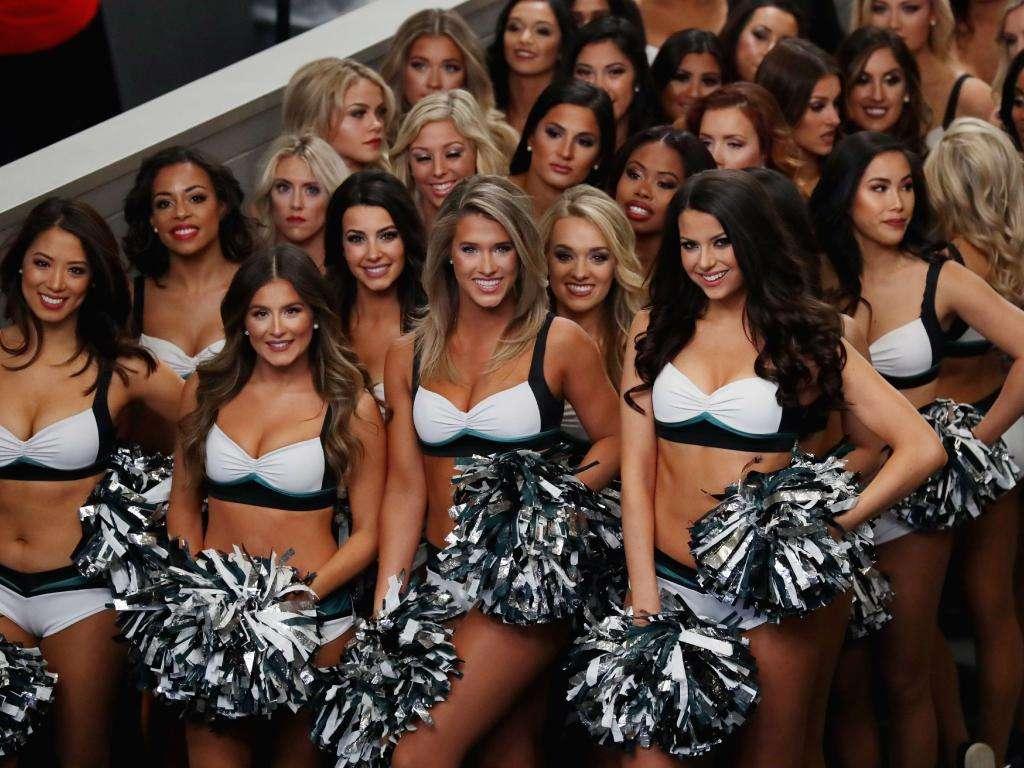 Cheerleaders des Philadelphia Eagles