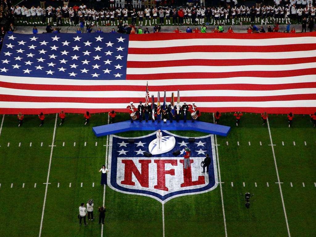 Hymne National USA Super Bowl