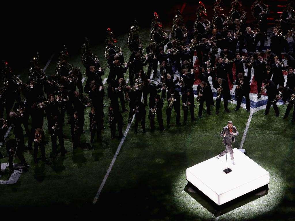 Justin Timberlake à la mi-temps du Super Bowl