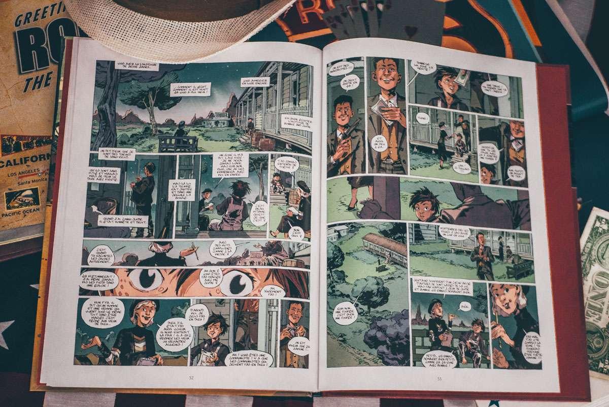 Bande dessinée La Ballade de Dusty
