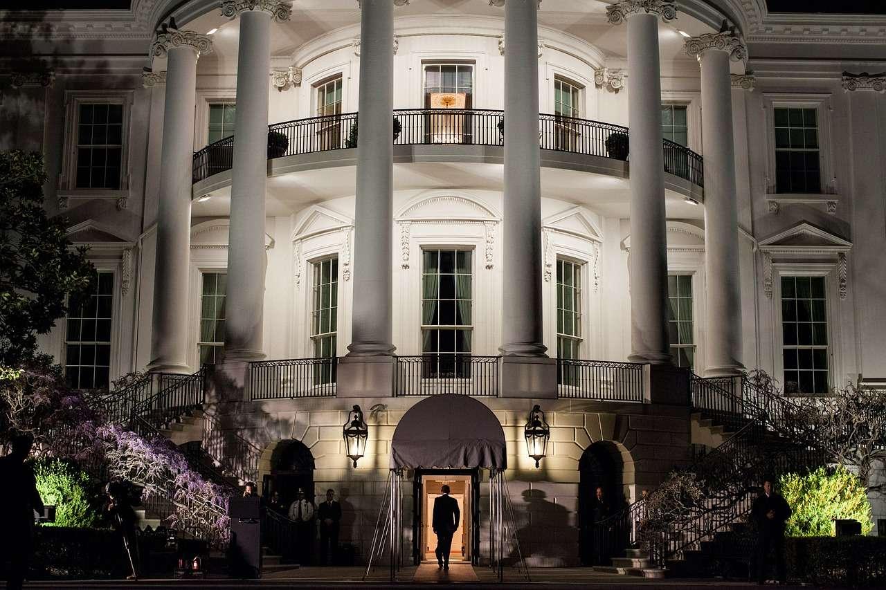 Visite de la Maison Blanche éclairée