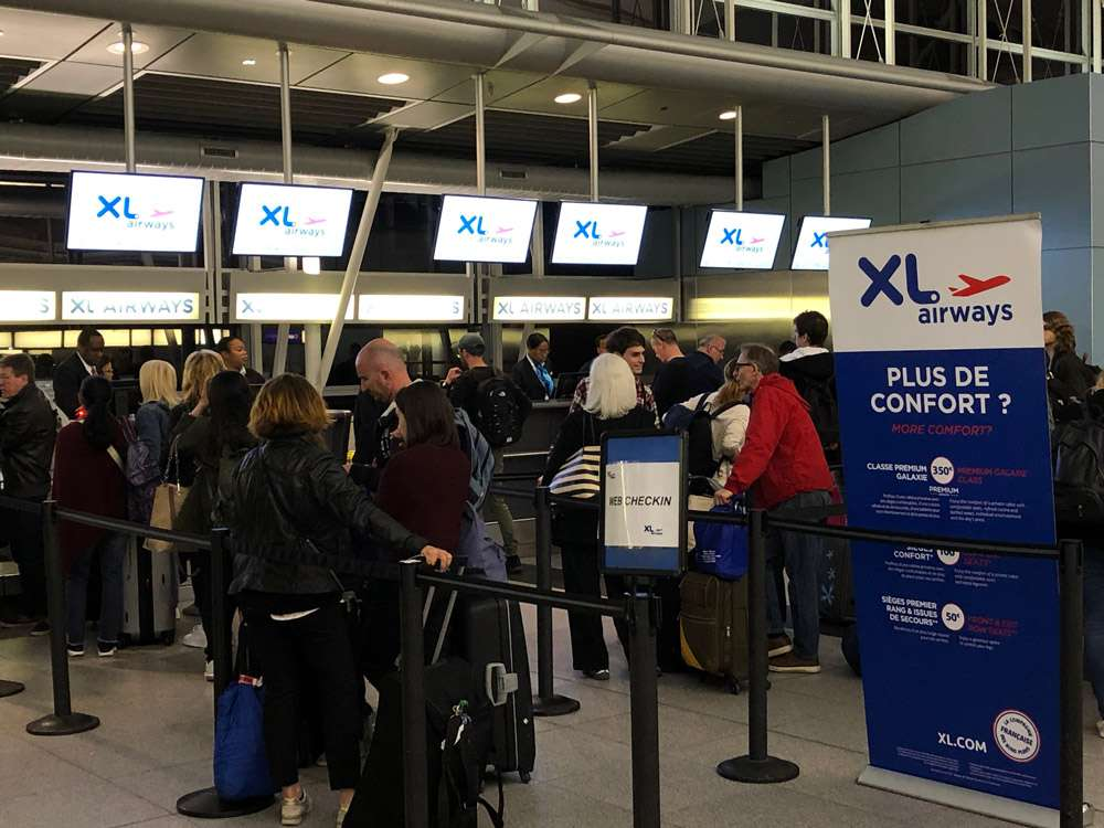 Check-in XL Airways