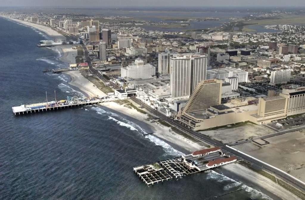 Atlantic City vue du ciel