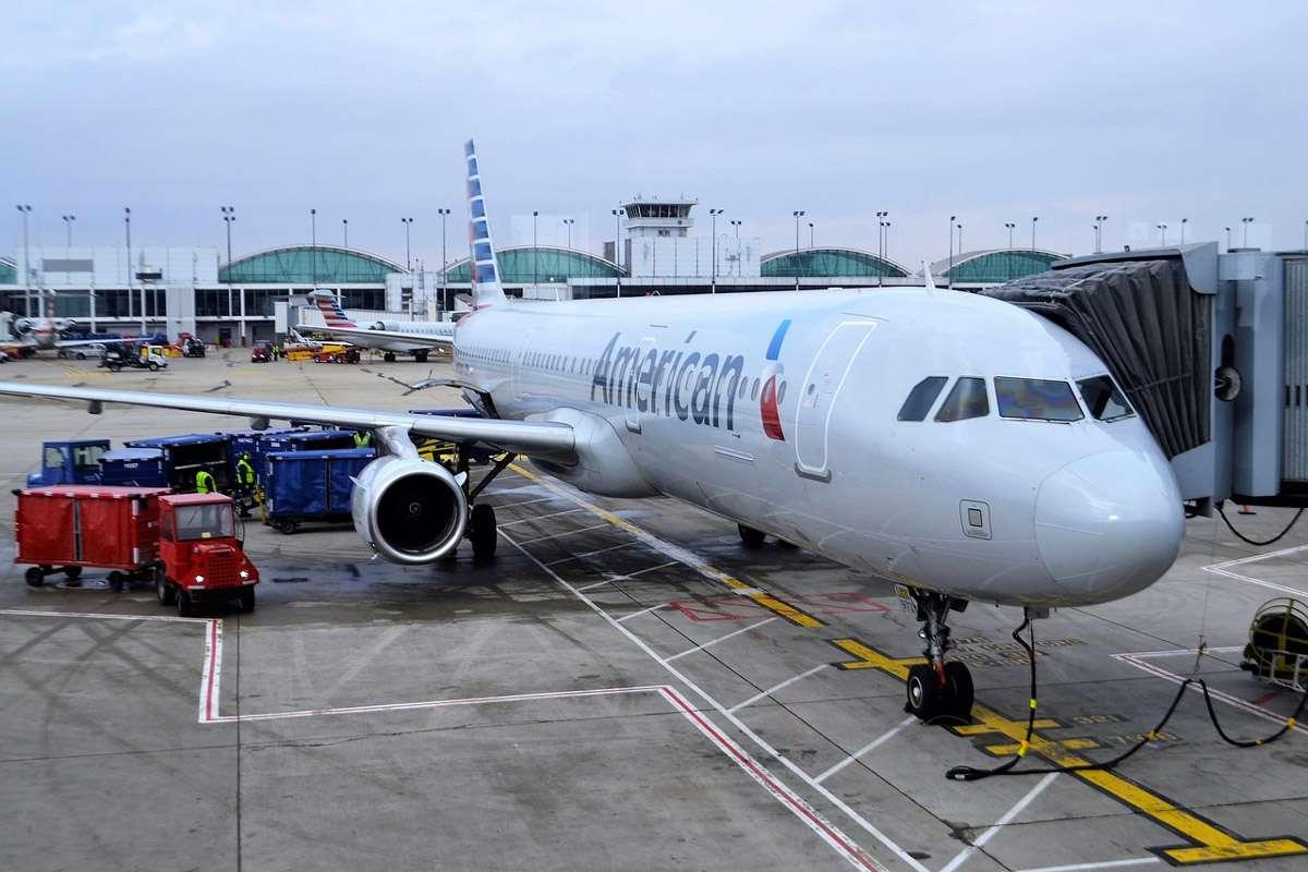 Avion American Airlines annulé ou retardé