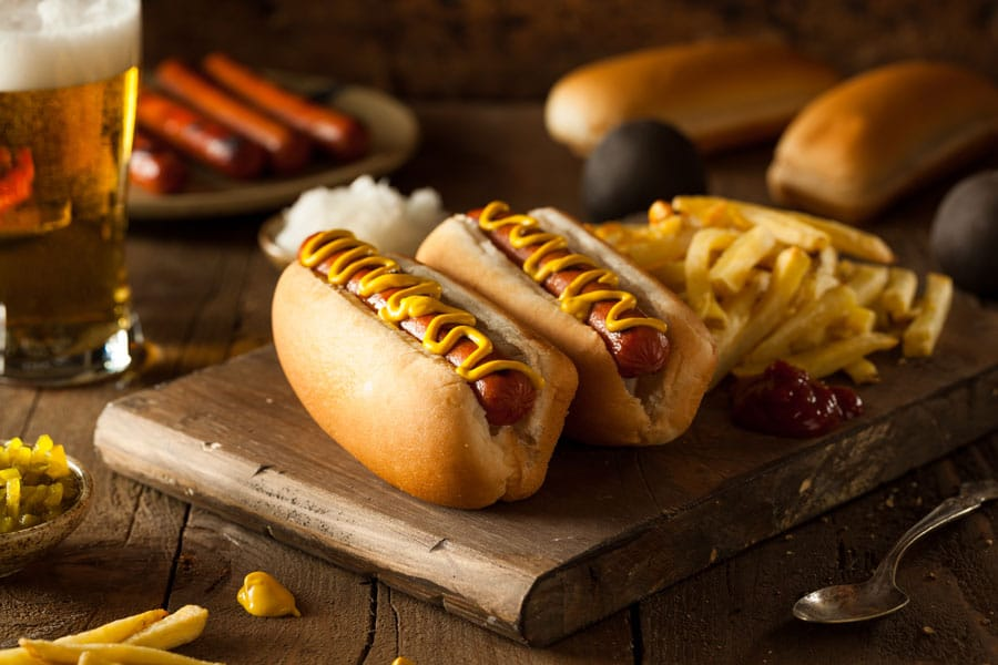 recette de hot dog made in new york avec sauce cheddar