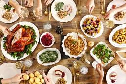 table de thanksgiving
