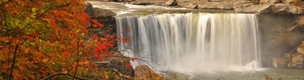 chute d'eau cumberland falls state park