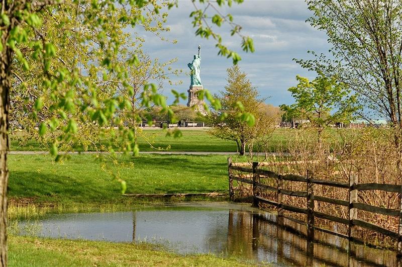 Liberty State Park New Jersey Statue de la liberté