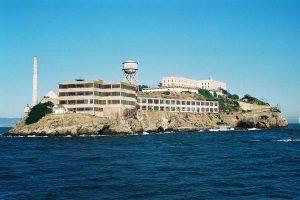 La célèbre île qui héberge la prison d'Alcatraz