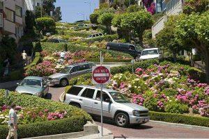 Lombard Street, la rue la plus sineuse des USA