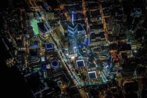 New York By Night Vincent Laforet
