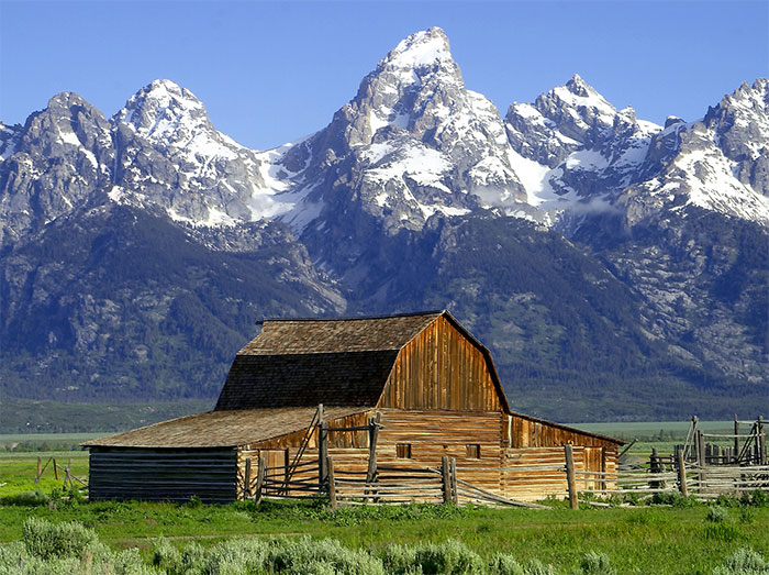 Jackson Hole Grand Teton National Park Wyoming
