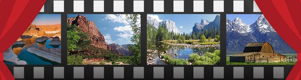 parcs nationaux dans les fims