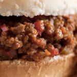 Recette américaine : Le Sandwich Sloppy Joe