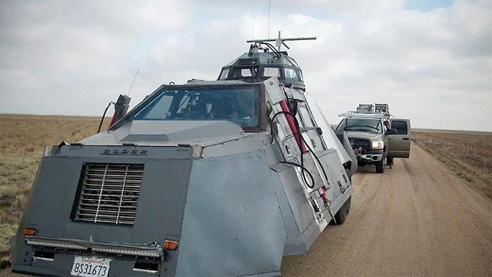 véhicule dominator pour résister aux tornades