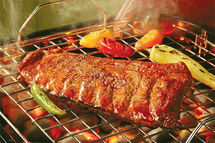 ribs au barbecue à l'américaine