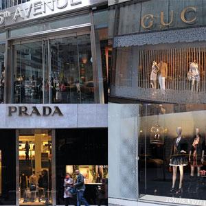 L\'avenue de shopping la plus célèbre du monde