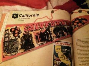 livre mythique route 66 californie
