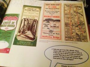 livre mythique route 66 flyers