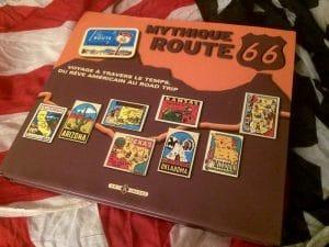 livre mythique route 66 couverture