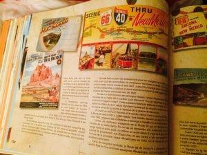 livre mythique route 66 nouveau mexique