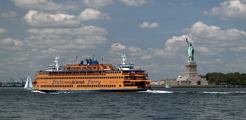 Staten Island Ferry à New York