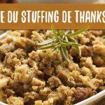 Recette du stuffing de la dinde de Thanksgiving