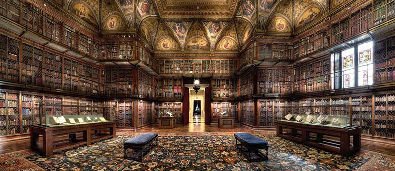 L'architecture monumentale de la Morgan Library