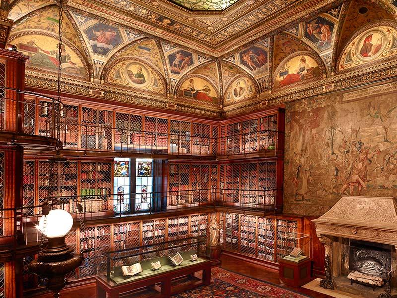 La Morgan Library est un véritable bijou architectural au coeur de NYC