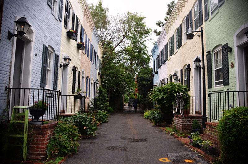 Pomander Walk est un bug temporel au coeur de l'Upper West Side