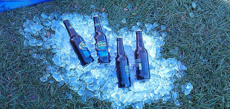 Bud Light Glaciere
