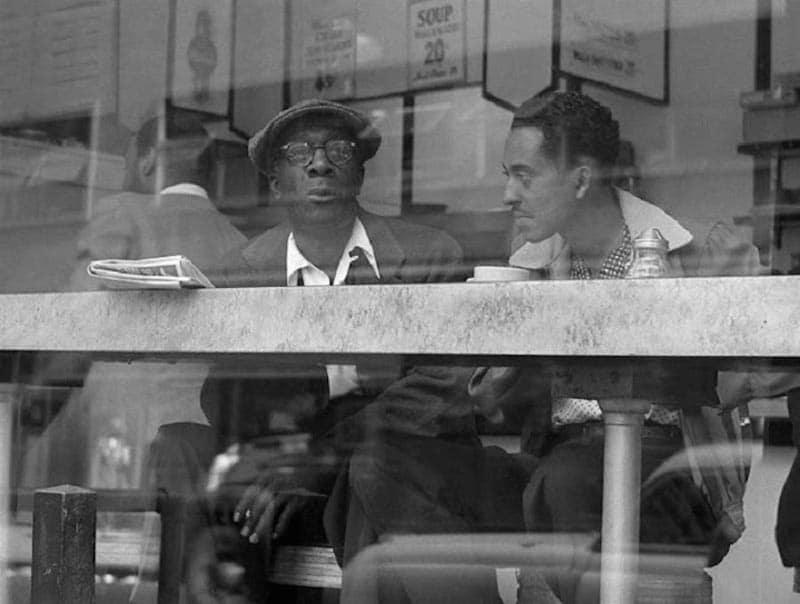 Frank Larson New York dans les années 50