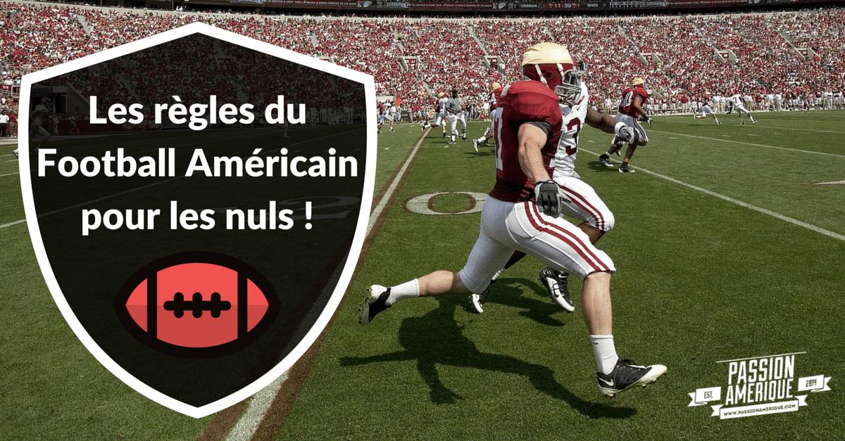 Les Regles Du Football Americain Pour Les Nuls