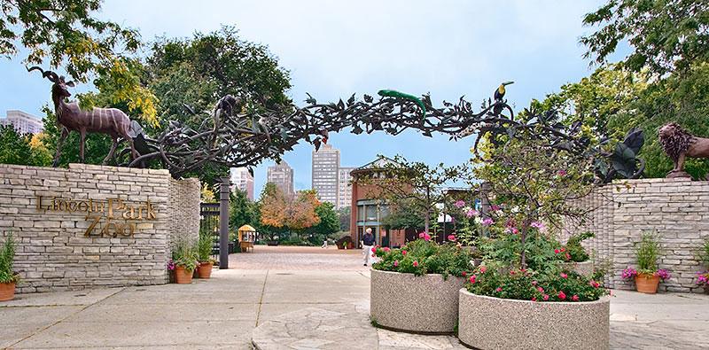Lincoln Park Zoo à Chicago