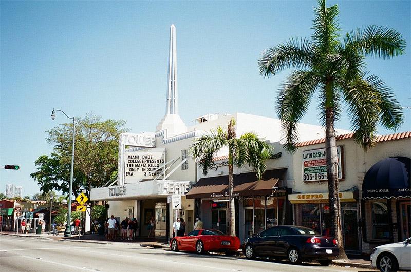 Quartier typique de Little Havana à Miami, Floride