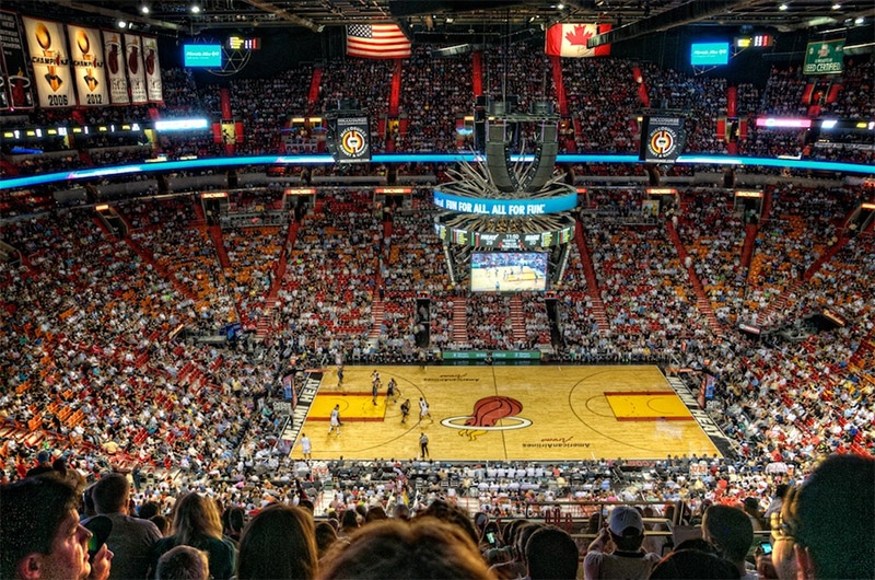 Assister à un match de NBA à Miami à la American Airlines Arena