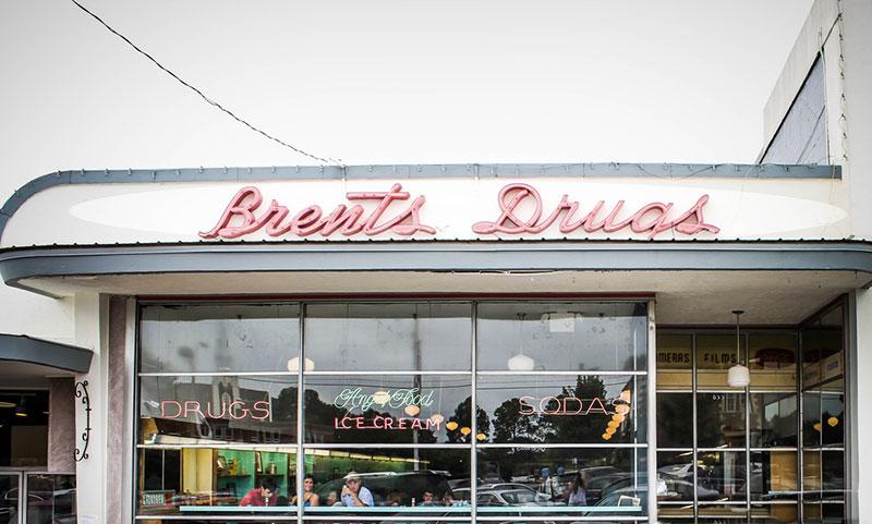 Brent's Drugs, Jackson, Mississippi